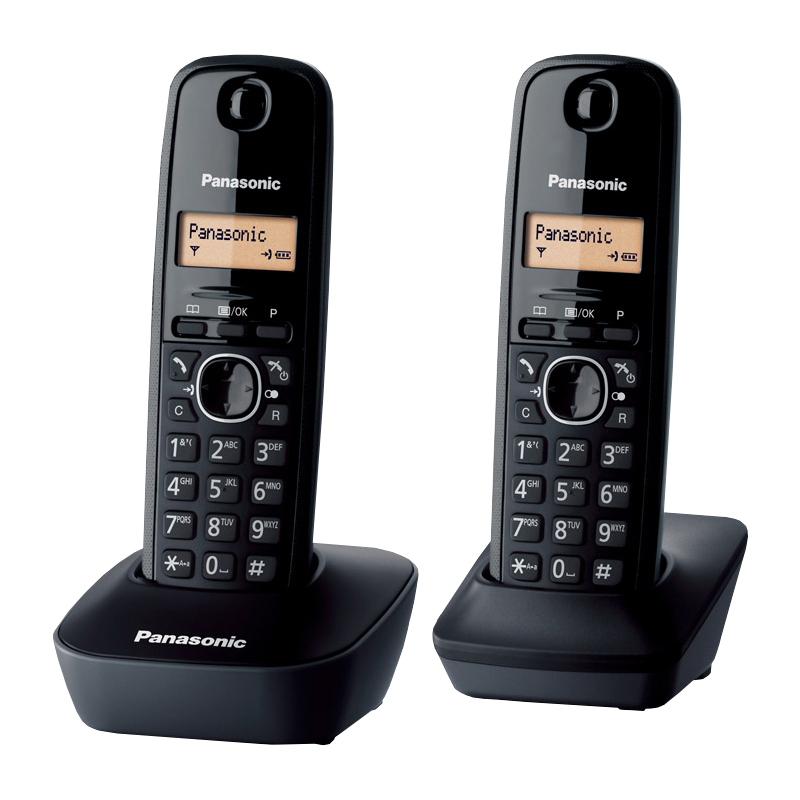 KX-TG1612FXH Panasonic bežični telefon s 2 slušalice