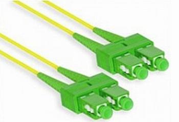 Patch kabel SC/APC-SC/APC Duplex Singlemode