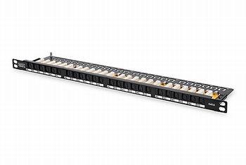 DN-91624U-SL-SH Digitus Cat6 0,5U patch panel