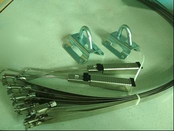 Optical drop cable kit (set)