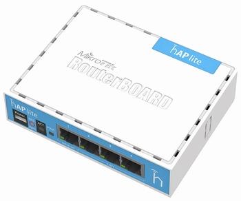 RB941-2nD Mikrotik RouterBOARD hAP Lite
