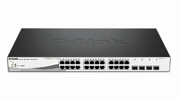 DGS-1210-28 D-Link switch 24x10/100/1000 + 4xSFP port