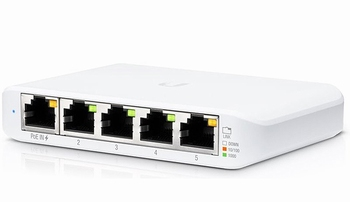 USW-Flex-Mini Ubiquiti 5x10/100/1000 upravljivi switch